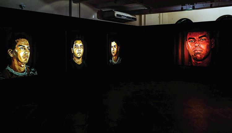 A exposição  'Alistamento' , de Éder Oliveira, integrou a 10ª edição da Mostra Sesc Amazônia das Artes