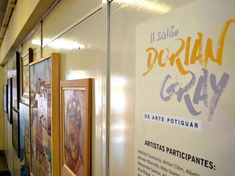 A mostra levou mais de 300 obras para Mossoró-RN