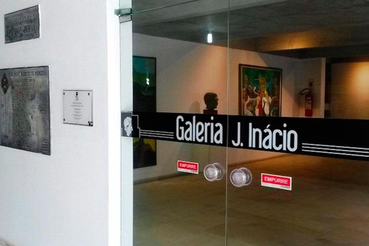 Entrada da Galeria de Arte J. Inácio