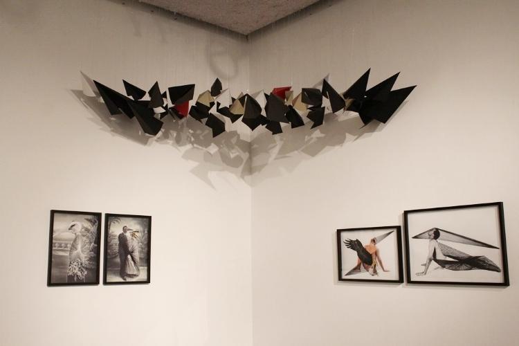 'Liberdade é com os pássaros' , obra de Martha Araújo