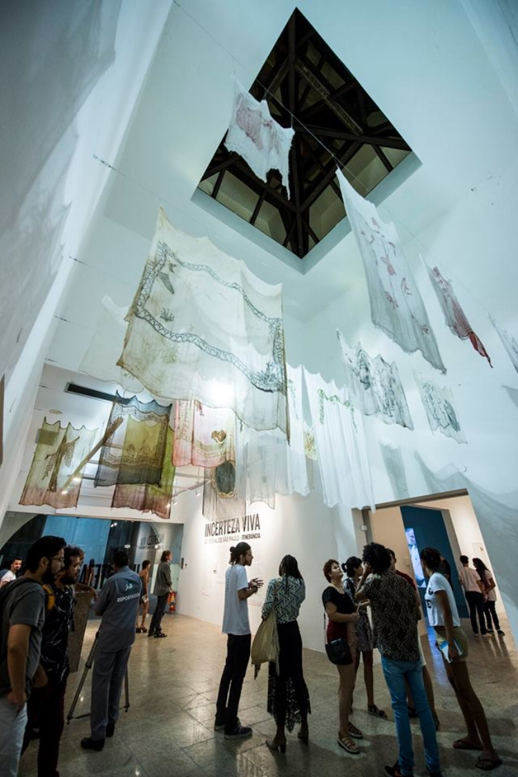 Abertura da etapa cearense da 32ª Bienal de São Paulo. Fotografia: Luiz Alves