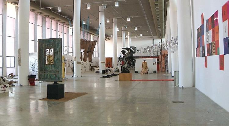 A Estação das Artes abriu seu pavilhão para a montagem de instalações do projeto  'Instale-se'