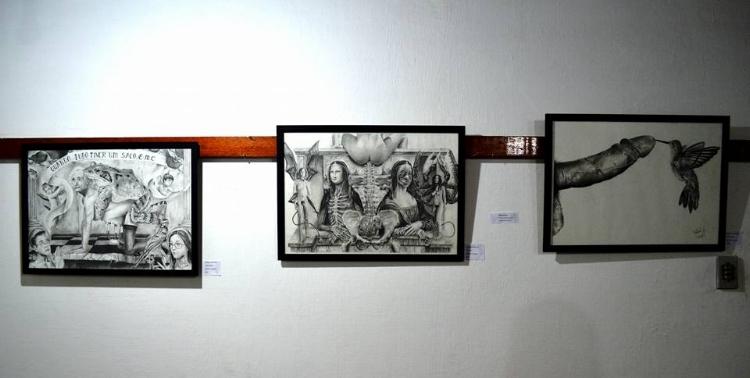 Os desenhos provocadores de Edilberto Sobrinho
