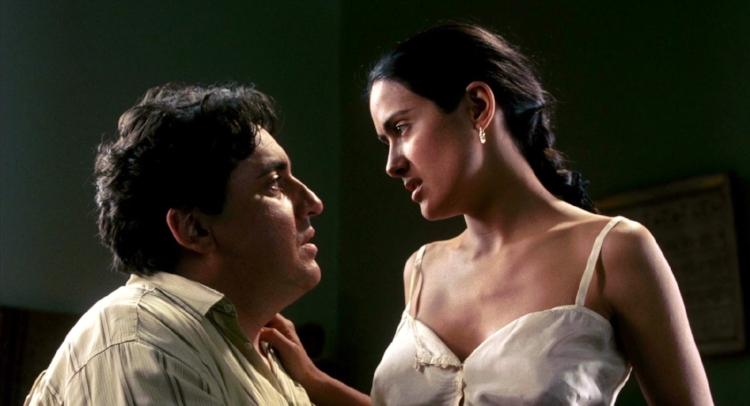 Na cena, Frida e o também pintor Diego Rivera, seu marido