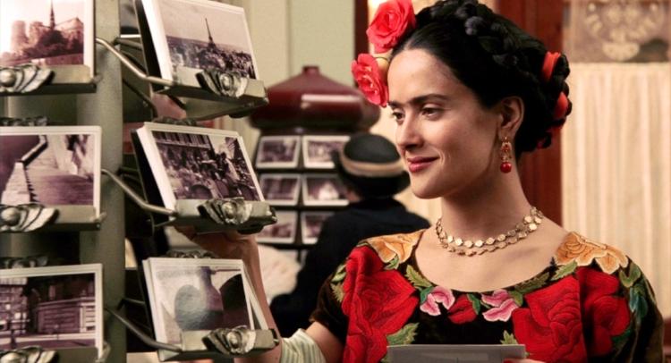 A atriz Salma Hayek viveu Frida Kahlo no cinema