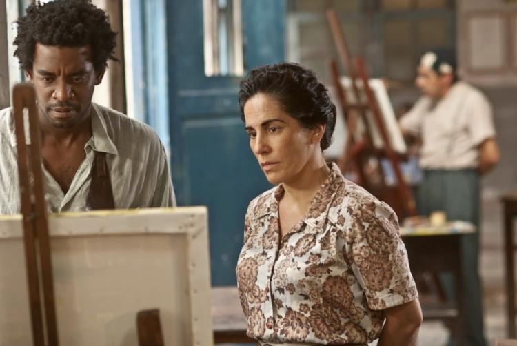 A atriz Glória Pires interpreta a psiquiatra alagoana Nise da Silveira