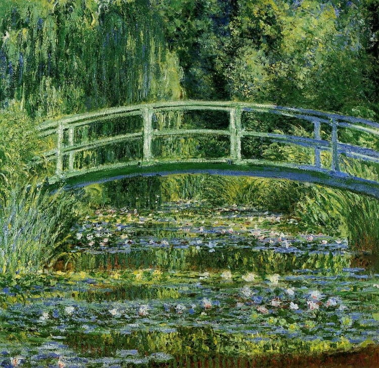 'A Ponte Japonesa' (1899), de Claude Monet