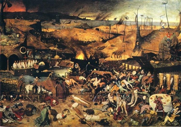 'O Triunfo da Morte' (1562-1563), de Pieter Bruegel, o Velho