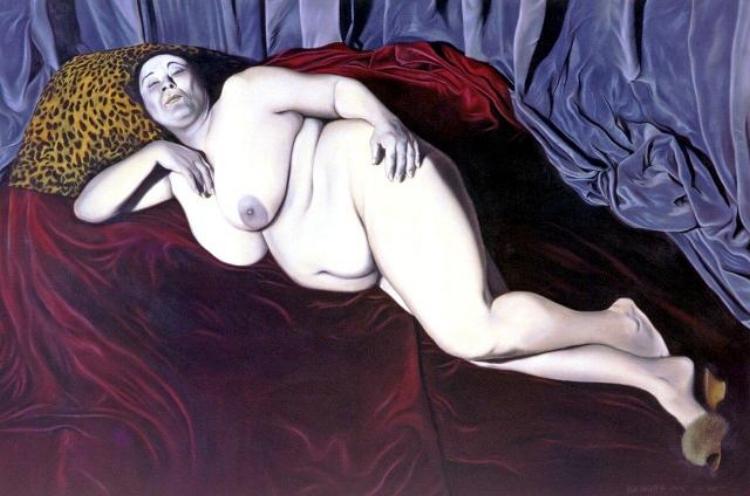 Algumas pinturas antigas de Hildebrando de Castro. A obra do artista é marcada pela técnica realista e figurativa