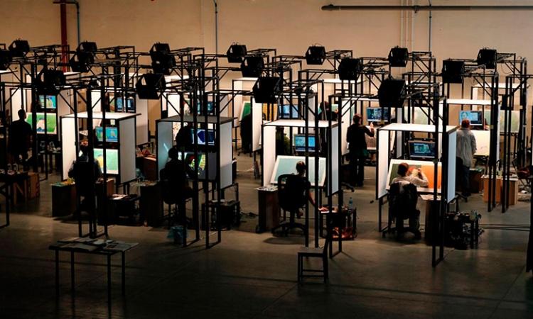 Mais de 100 artistas participaram da criação