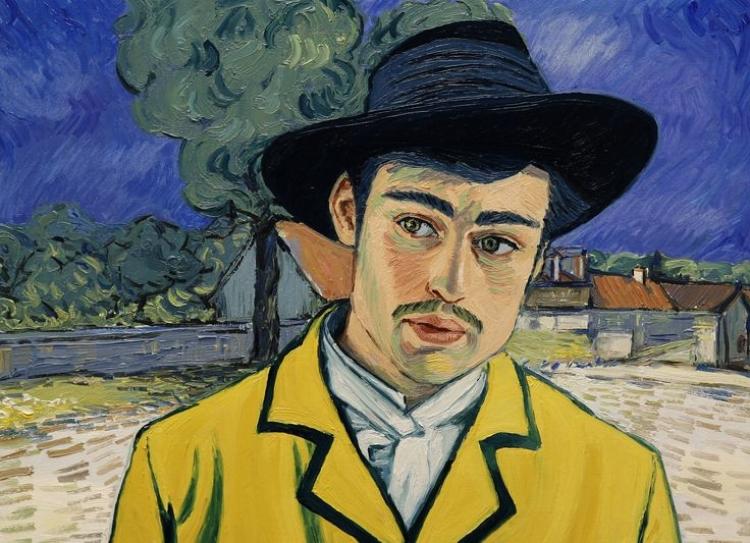 Armand Roulin (Douglas Booth)assume o papel de protagonista do filme, encarregado de entregar a última carta escrita por Van Gogh