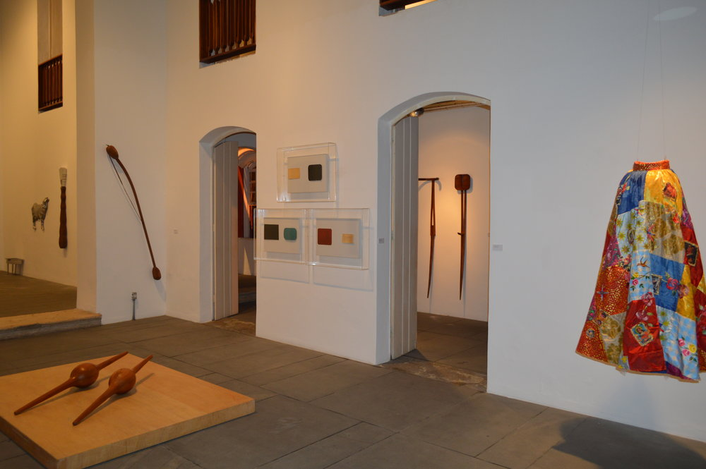 O MAM-BA reuniu obras de artistas premiados durante as 15 edições do Salão da Bahia, entre 1994 e 2008