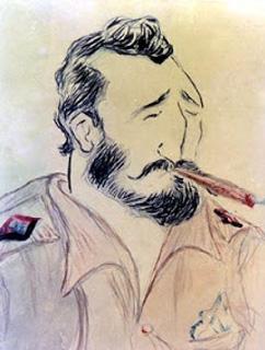 Fidel Castro, ainda jovem