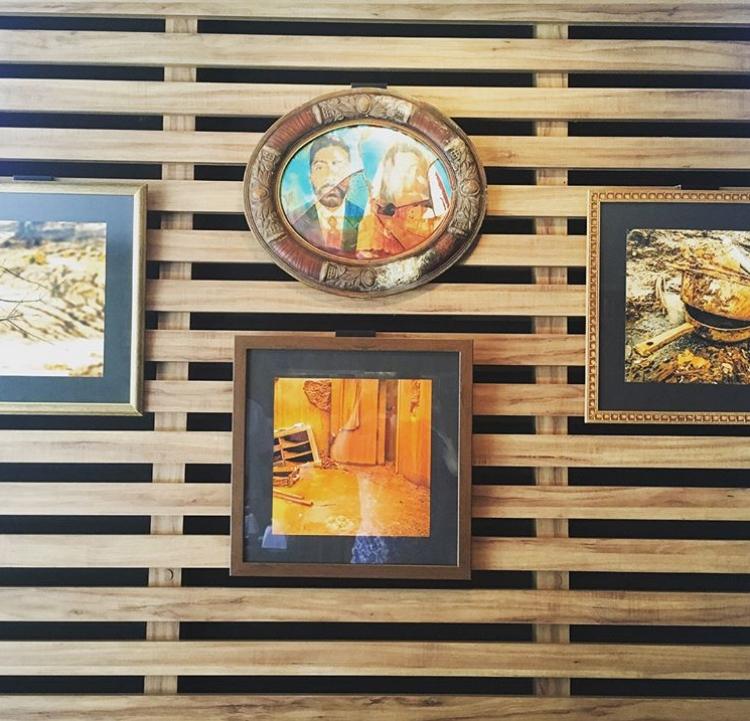 A exposição está em cartaz no charmoso Café da Gente, anexo ao Museu da Gente Sergipana