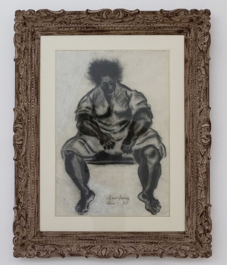 'Negra Gorda' , obra de Antônio Bandeira, na mostra de acervos