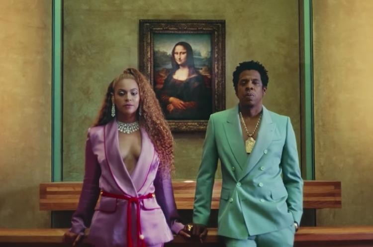 O casal mais poderoso do showbiz e o retrato da Mona Lisa, um dos quadros mais reproduzidos do mundo da arte