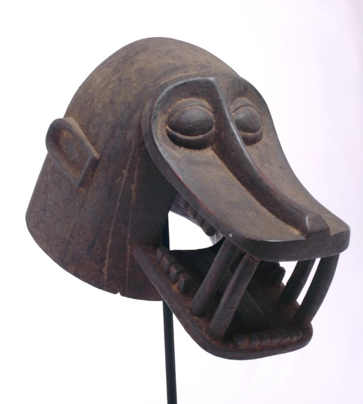 'Máscara Senufo ', da Costa do Marfim. Fotografia: Edgar Rocha