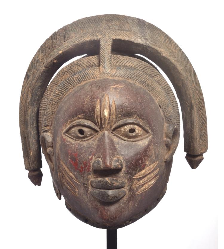 'Máscara Gueledé' , do povo Iorubá, Nigéria. Fotografia: Edgar Rocha