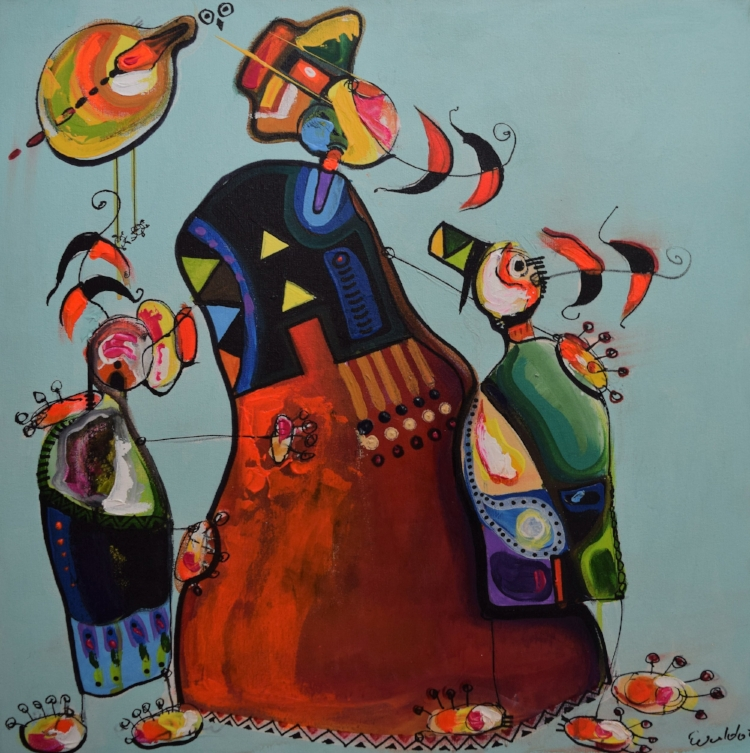 Evaldo Oliveira Galeria Montmartre