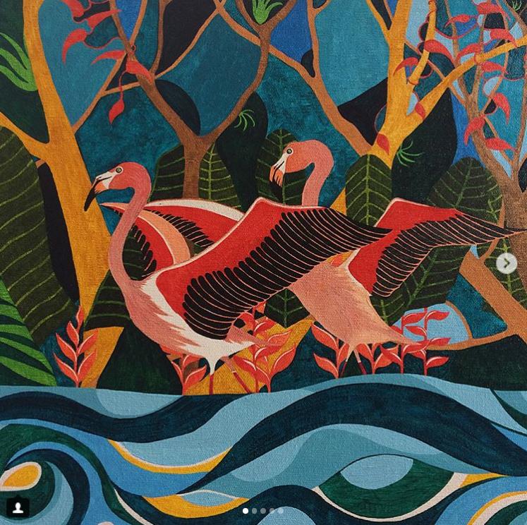 1 - 'A Dança dos Flamingos'