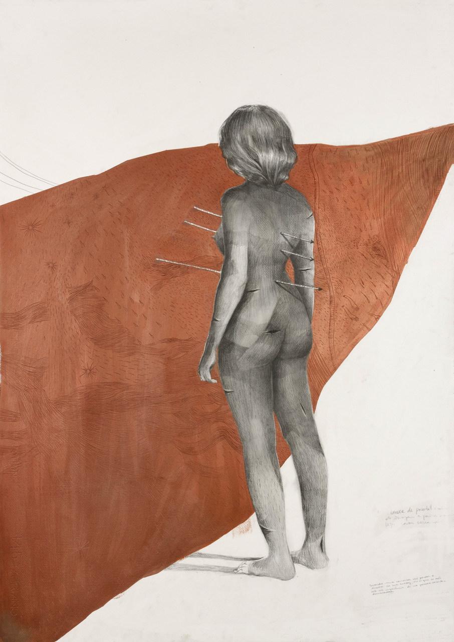 A precisão técnica dos desenhos em grafite da artista Juliana Lapa