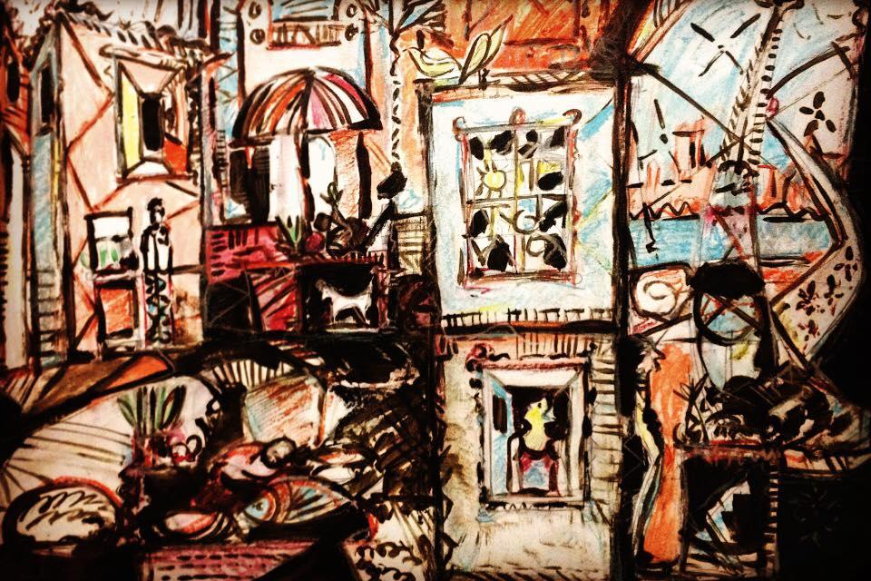 Nesta exposição, as obras de Jucelino Nunes expressam suas memórias da infância no interior piauiense