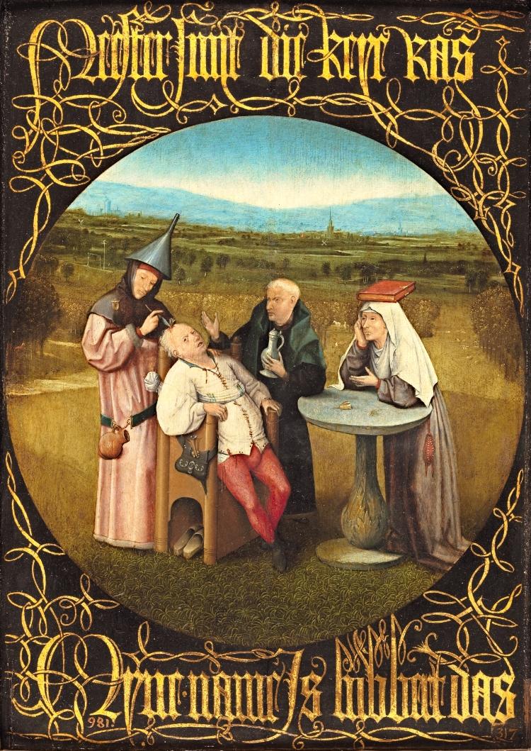 'A Extração da Pedra da Loucura' , obra de 1494
