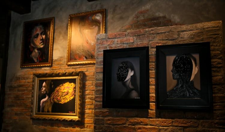 As obras de Juca Máximo já foram expostas em vários países. Fotografia: Márcia Travessoni Galeria