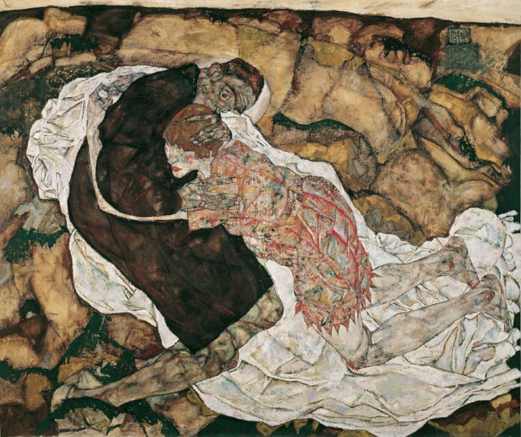 Death and the Maiden 1915 Egon Schiele