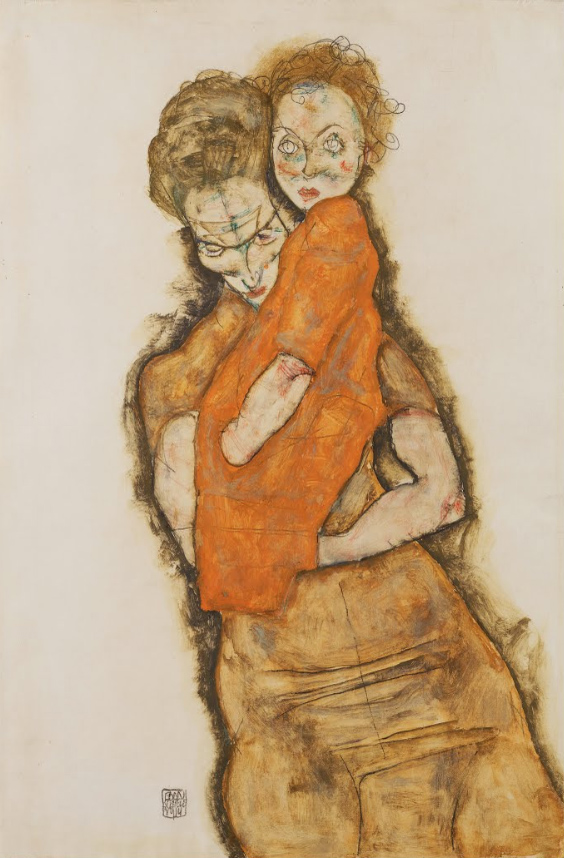Egon Schiele - Mother and Child 1914.jpg