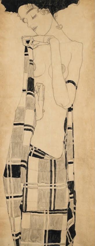 Egon Schiele - Standing Girl 1908-1909