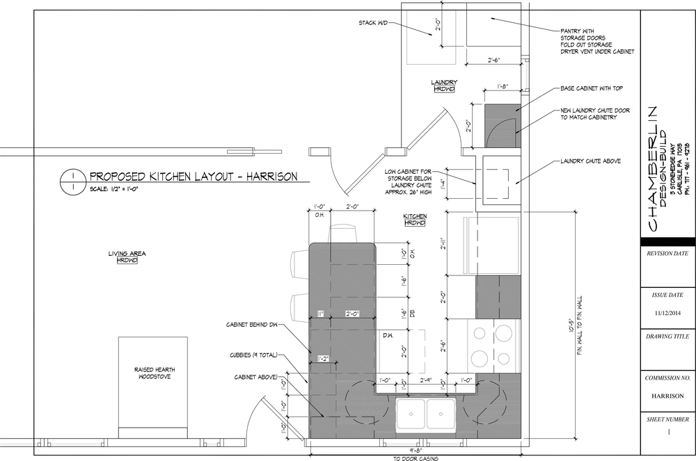 Proposed Kitchen Layout (Click image to view PDF)