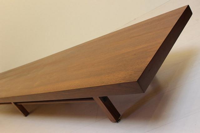 2024 Milo Baughman Coffee Table Long Low Walnut Mid Century Modern Vintage  Furniture_04