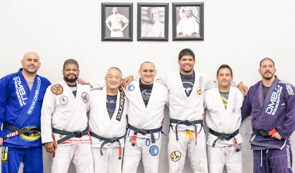 Jiu Jitsu Black Belts Corona