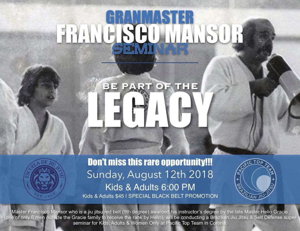 Brazilian jiu Jitsu Seminar corona