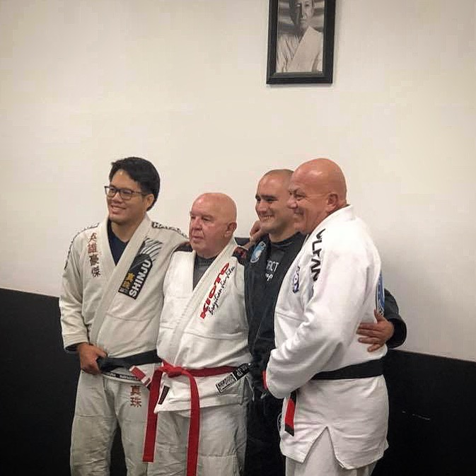 Professor Boris, GrandMaster Francisco Mansor, Professor JP and Professor Kevin