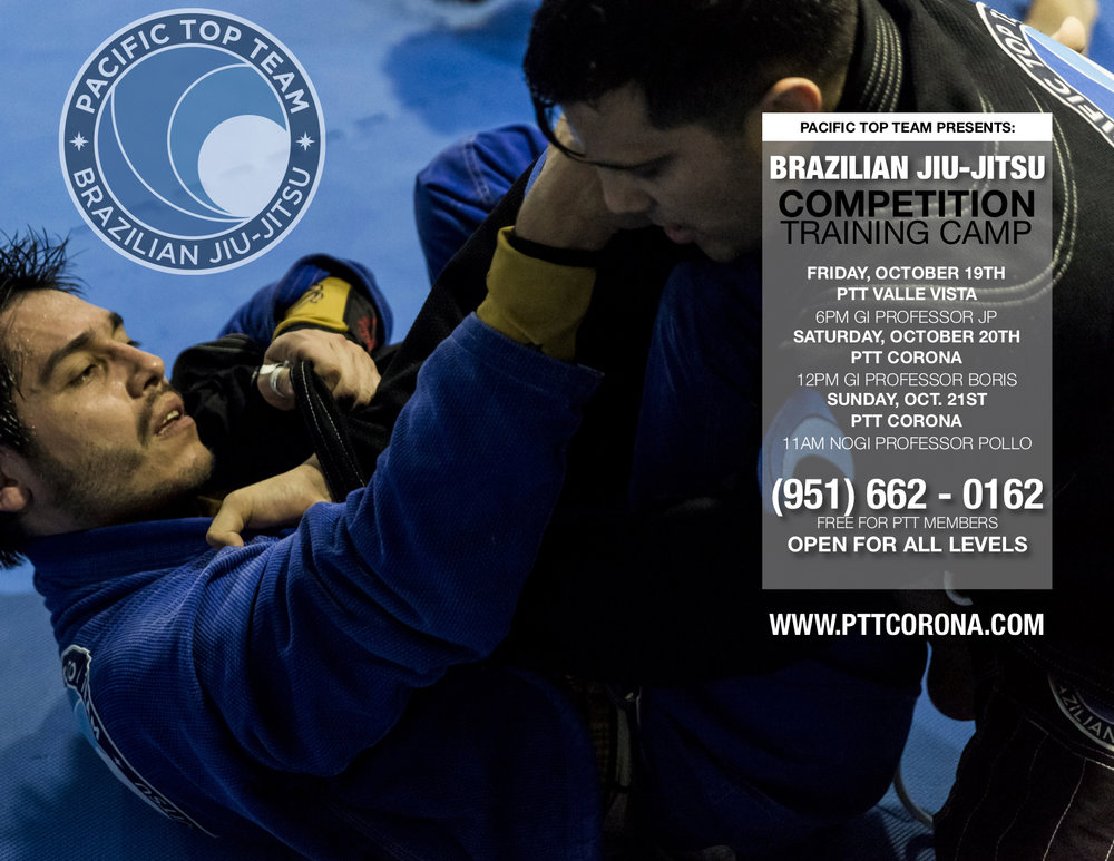 jiu jitsu training CAMP