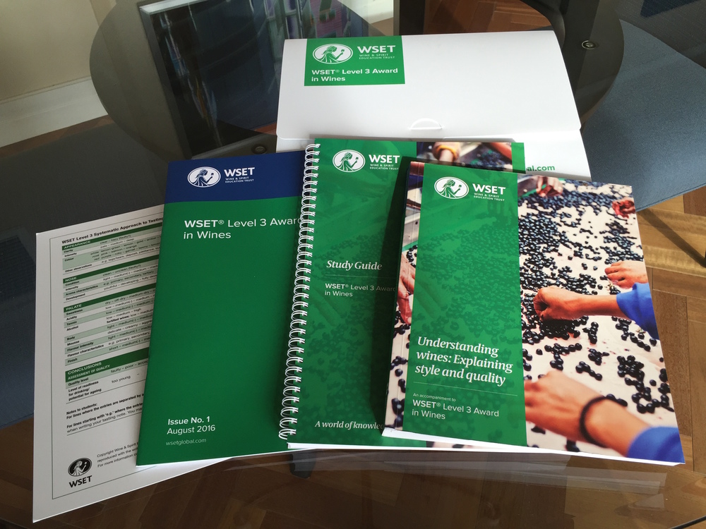 The new WSET Level 3 Certificate in Wine Materials