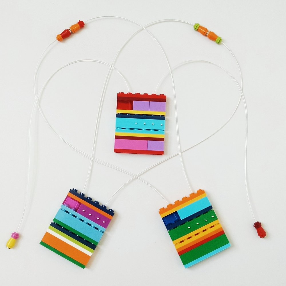 redesigned 1x6 necklaces in new colors