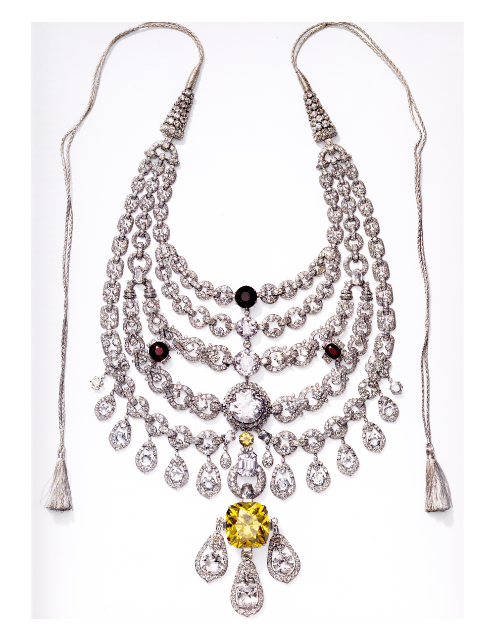 Maharajah Sir Bhupindra Singh of Patiala's Ceremonial necklace, Cartier, 1928
