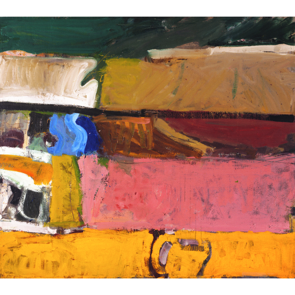 """Berkeley 47"", oil painting by Richard Diebenkorn, 1955"