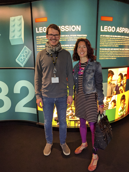 LEGO Historian gives us private tour of museum