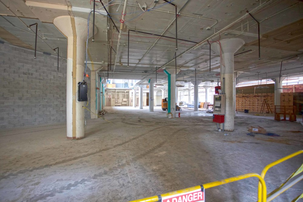 Ground Floor - Construction