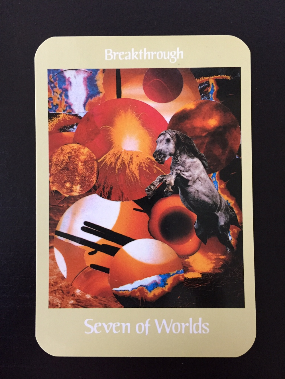 Card 1: Seven of Worlds - Breakthrough