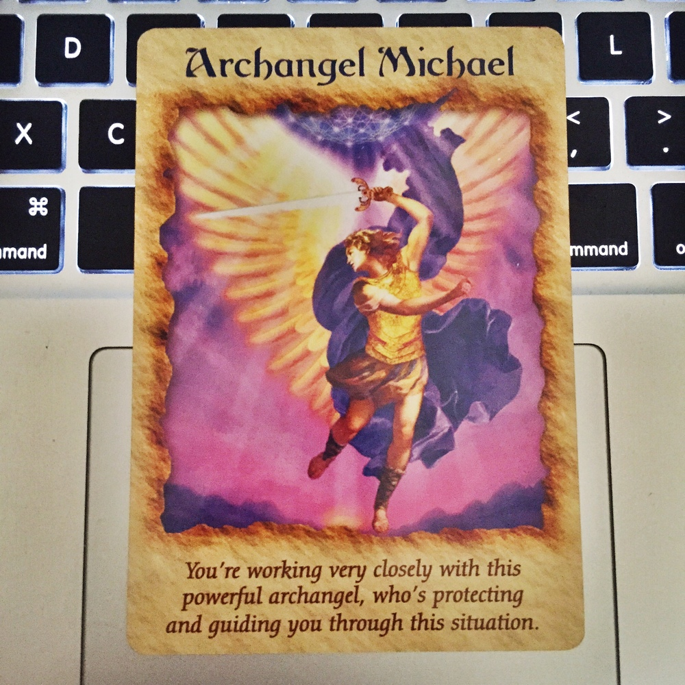 From Doreen Virtue's Angel Therapy Oracle Cards deck