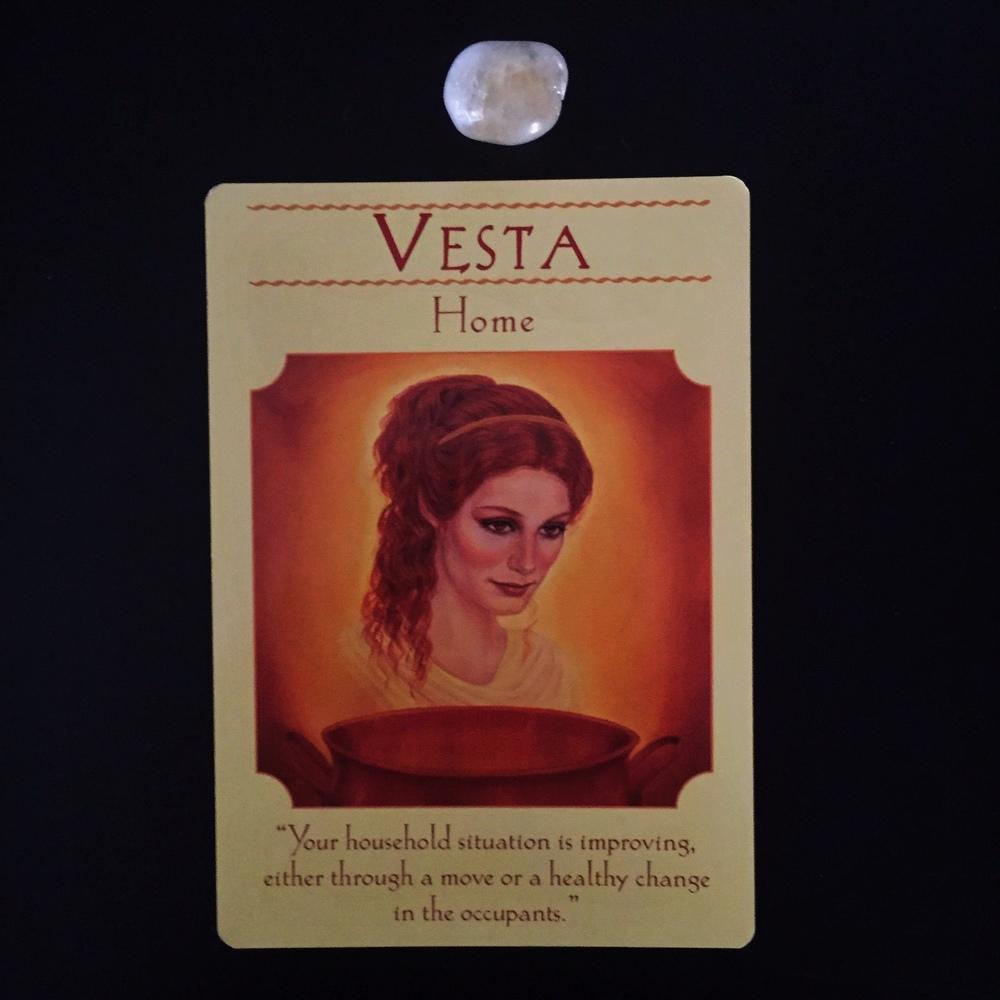 Vesta Roman Goddess