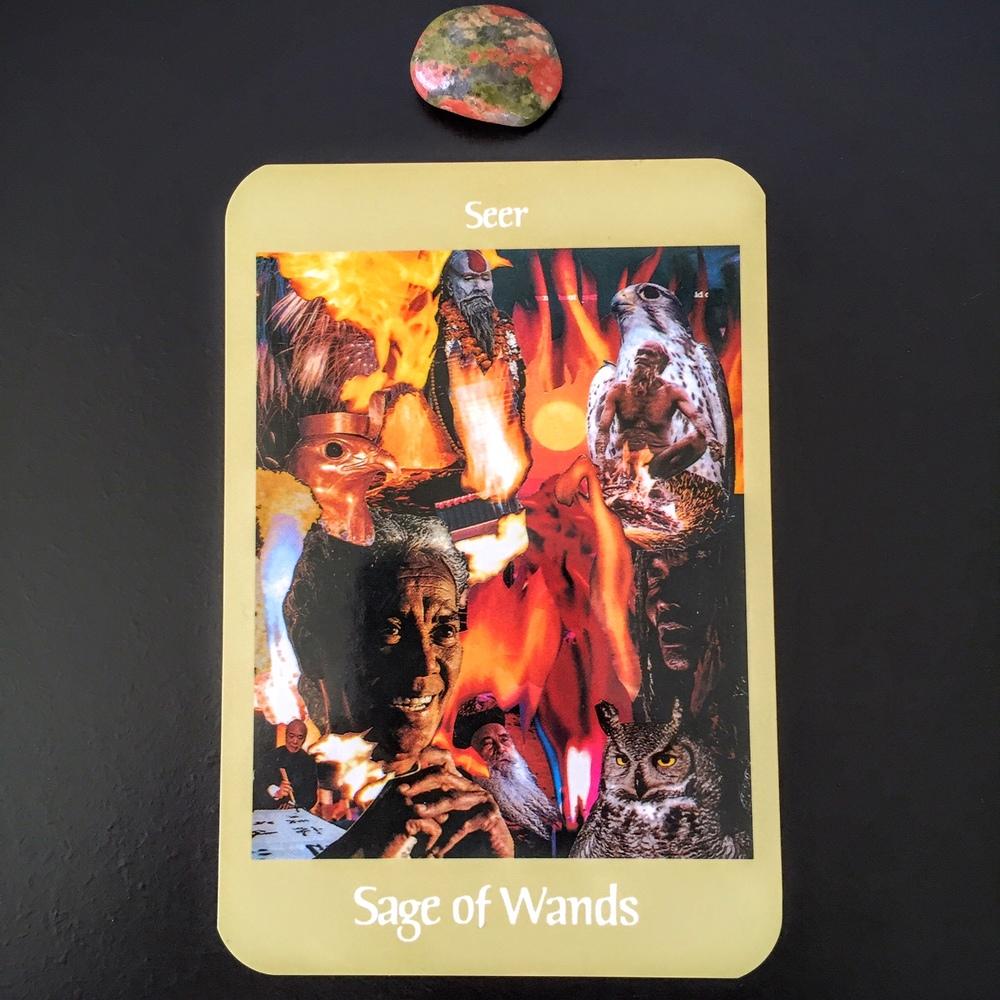 Sage of Wands Seer