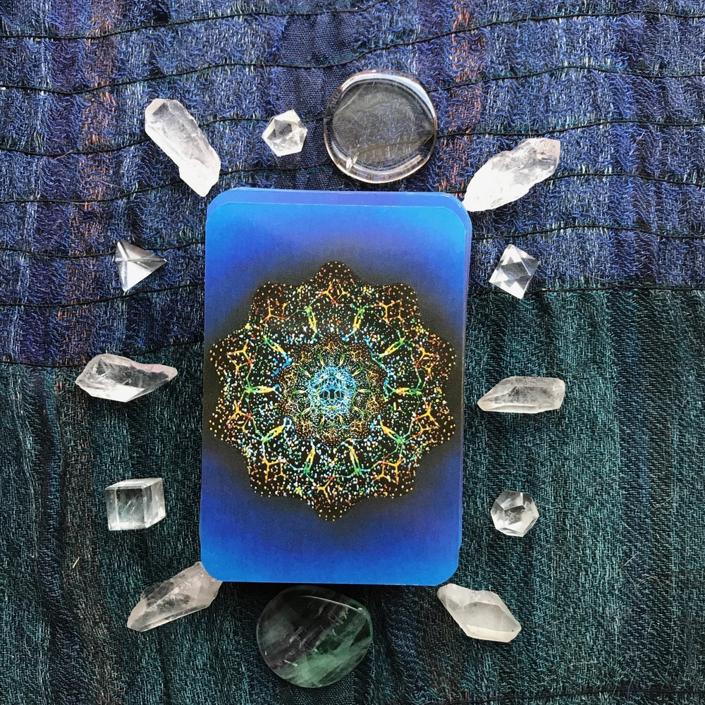 Tarot card reading with Delight