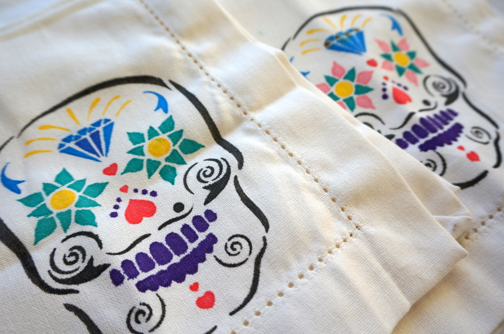 Day of the Dead Napkin