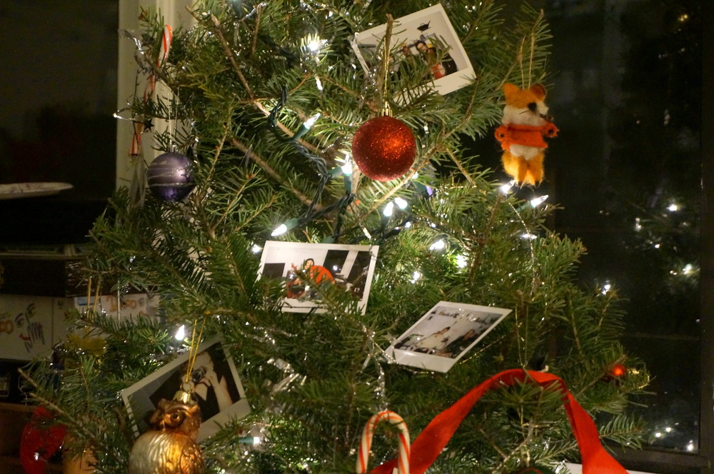 Instax Christmas Tree